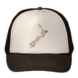 Gorra del camionero del helecho NZ 3
