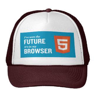 Gorra del camionero del HTML 5