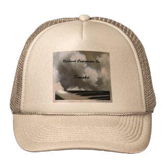 Gorra del camionero del humo