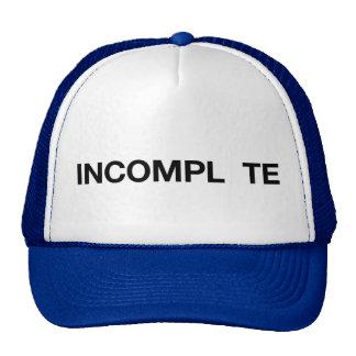Gorra del camionero del lema de la diversión de