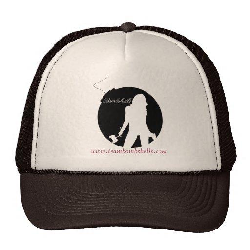 Gorra del camionero del logotipo de la bomba