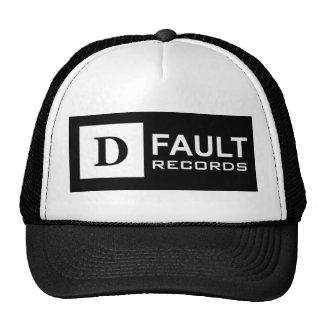 Gorra del camionero del logotipo de la D-Falta