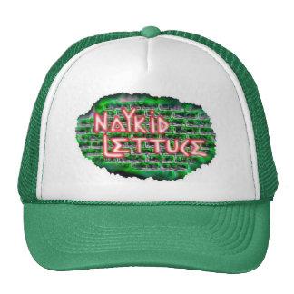 gorra del camionero del logotipo de la lechuga del
