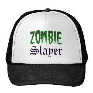 Gorra del camionero del logotipo del asesino del z