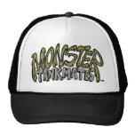 Gorra del camionero del logotipo del monstruo de T