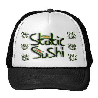 gorra del camionero del logotipo del staticsushi