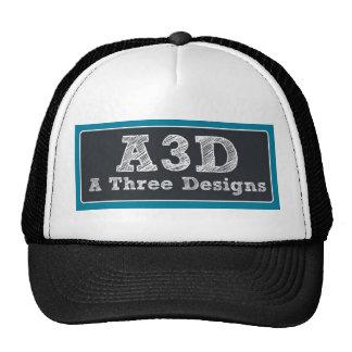 Gorra del camionero del logotipo del Web site de