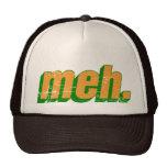 gorra del camionero del meh