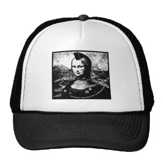 Gorra del camionero del Mohawk de Mona