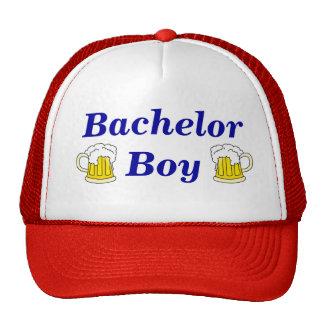Gorra del camionero del muchacho del soltero