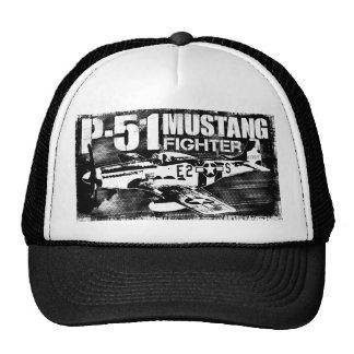 Gorra del camionero del mustango P-51