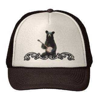 Gorra del camionero del oso del banjo