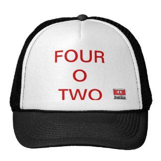 Gorra del camionero del parche de tambor 402