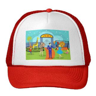 Gorra del camionero del parque zoológico del