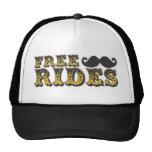 Gorra del camionero del paseo del bigote