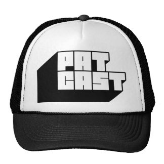 gorra del camionero del patCAST