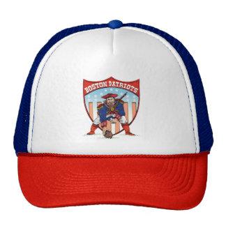 Gorra del camionero del patriota de Pat