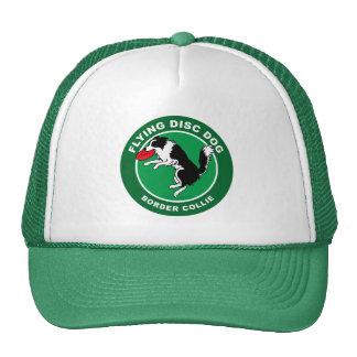 Gorra del camionero del perro del disco de vuelo d