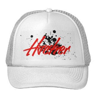 Gorra del camionero del pirata informático
