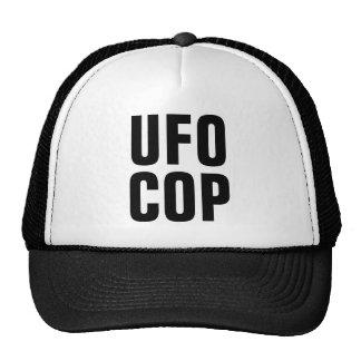 Gorra del camionero del poli del UFO