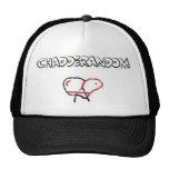 Gorra del camionero del pollo de Chadderandom