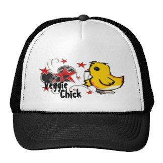 Gorra del camionero del polluelo del Veggie