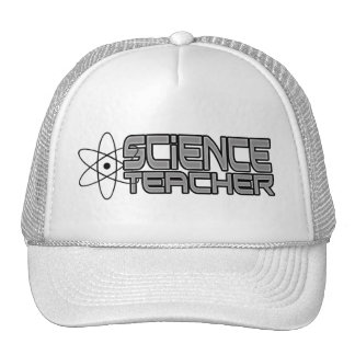 Gorra del camionero del profesor de ciencias