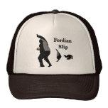 Gorra del camionero del resbalón de Fordian