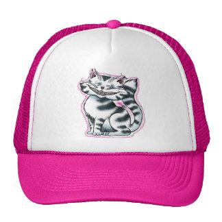 Gorra del camionero del rosa del gatito de Cheshir