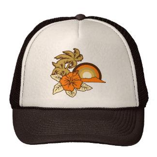 Gorra del camionero del safari que practica surf