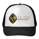 Gorra del camionero del sello de Guam del vintage