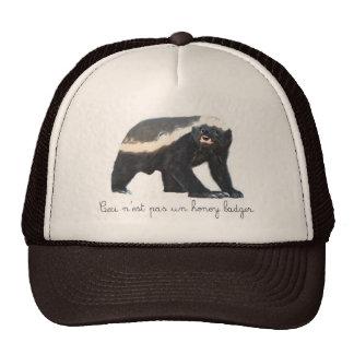 Gorra del camionero del tejón de miel de la O.N.U