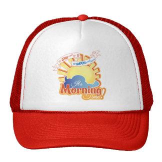Gorra del camionero del tiempo de mañana