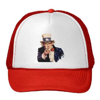 Gorra del camionero del tío Sam