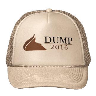 Gorra del camionero del triunfo de Anti-Donald