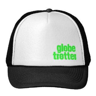 Gorra del camionero del trotón del globo