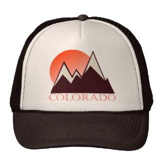 Gorra del camionero del vintage de Colorado