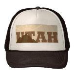 Gorra del camionero del vintage de Utah