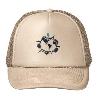 Gorra del camionero del World Travel