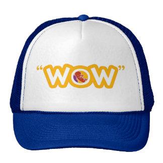 "Gorra del camionero del ""wow"""