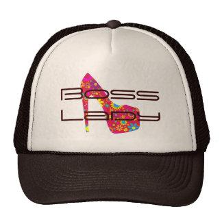 Gorra del camionero del zapato del tacón alto de s