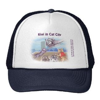 Gorra del camionero - gatos y caticopter (series d
