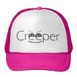 Gorra del camionero - gorra rosado de los atisbado