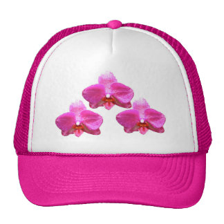 Gorra del camionero - orquídea