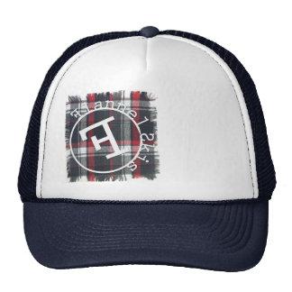 Gorra del camionero para la compañía local del edi