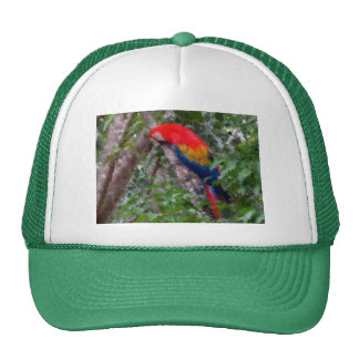 Gorra del camionero para los amantes del pájaro