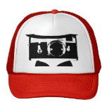 Gorra del camionero - rojo