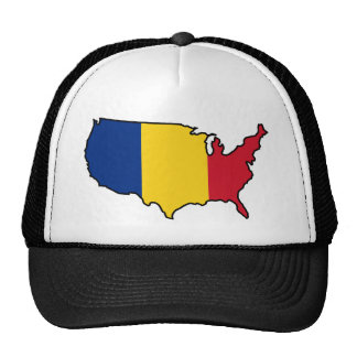 Gorra del camionero: Rumano en los E.E.U.U.