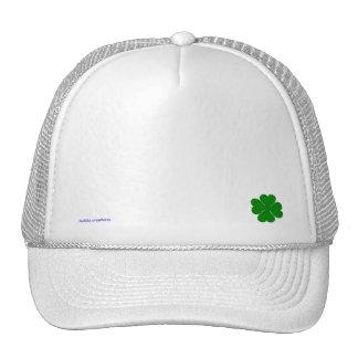 gorra del camionero - trébol afortunado