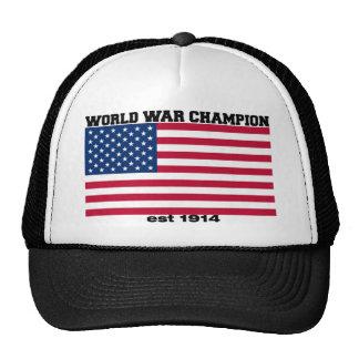 Gorra del campeón de la guerra mundial
